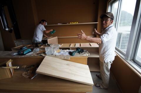 054 木製什器工事