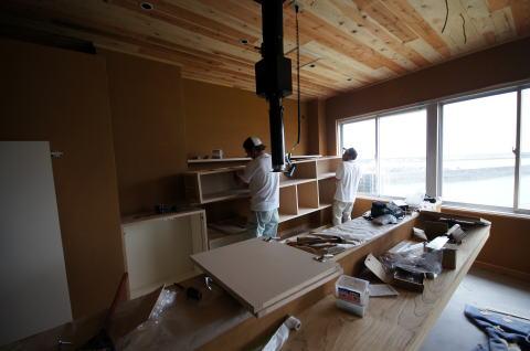 055 木製什器工事