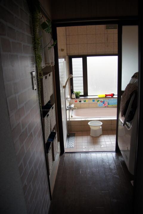 010 工事着工前 浴室・洗面脱衣室