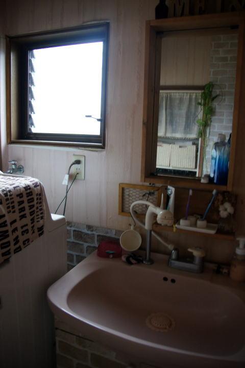 011 工事着工前 洗面脱衣室