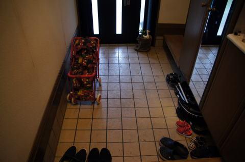 013 工事着工前 玄関