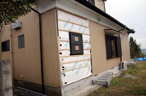 075 外部建具・外装工事