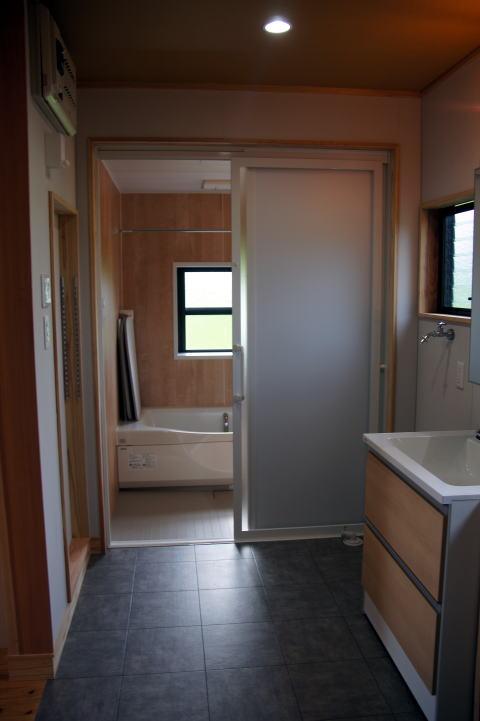 121 完成 浴室・洗面脱衣室