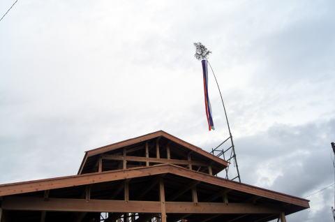 028 木工事 上棟式(2012年9月15日)