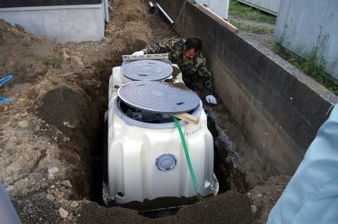 102 浄化槽設置工事