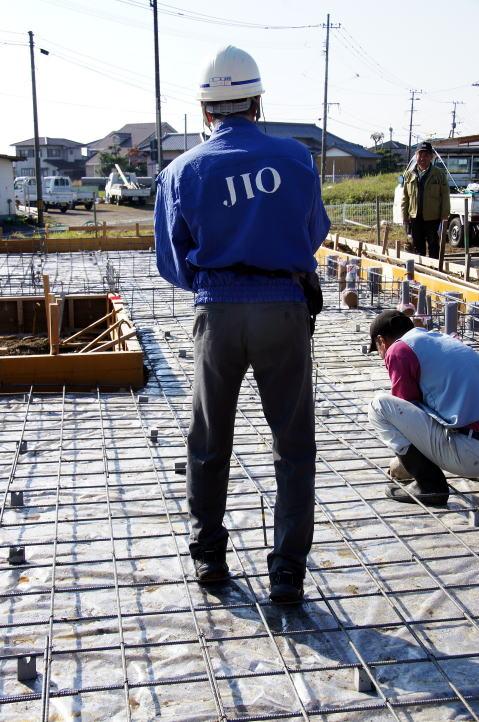 012 JIO基礎配筋検査 2015.12.01