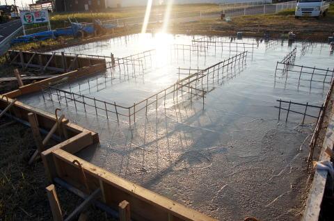 016 基礎コンクリート打設工事