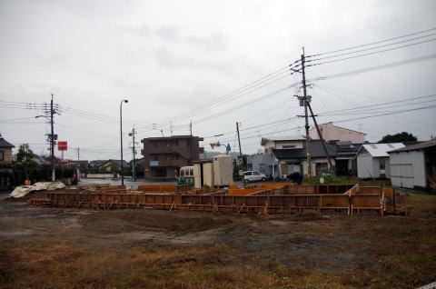017 基礎コンクリート型枠工事