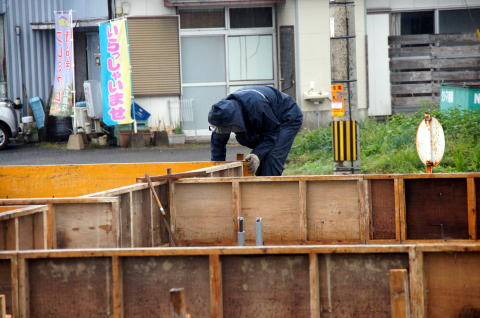 018 基礎コンクリート型枠工事