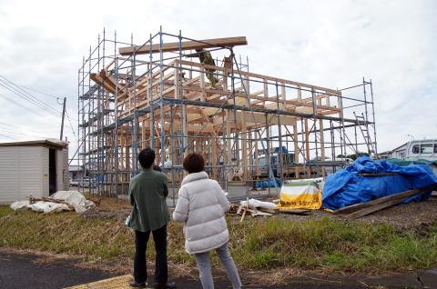 037 木工事(上棟) 2015.12.15