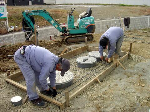 089 浄化槽設置工事
