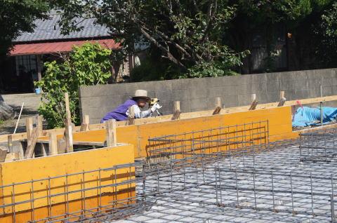 026 基礎コンクリート工事
