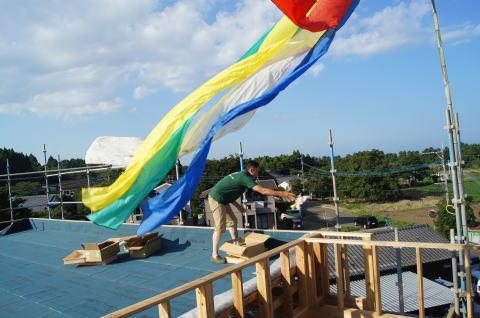 069 木工事 上棟式(2014.07.26)