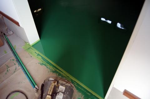 134 床塗装工事