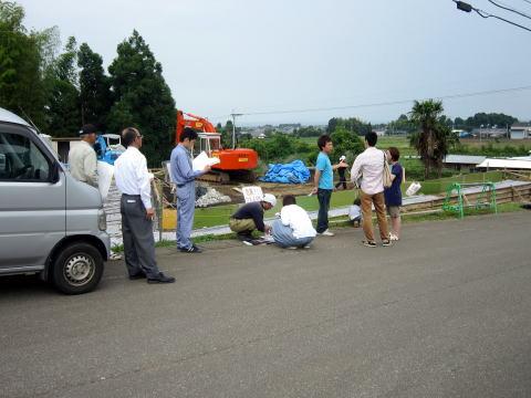 013 工事関係者現地打合せ 2011年6月2日