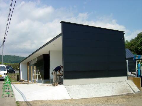 045 外壁塗装完了
